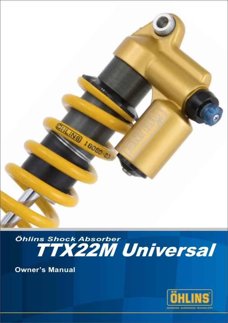 Ohlins Ttx 22 Tech Help Pmb Suspension