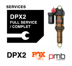 Fox DPX2 Service Level 1: Full Services 50/125H