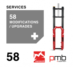 Marzocchi 58 Service Level 2: Modifications / Upgrades