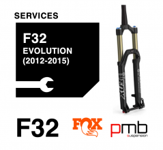 Fox 32 Service: Fox 32 Evolution Service