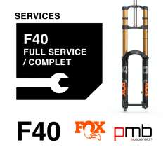 Fox 40 Service Level 1: full services 50/125H