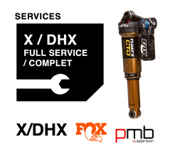Fox X/DHX Air Service Level 1: Full Services 50/125H