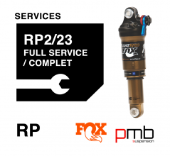Fox RP2/RP23 Service Level 1: Full Services 50/125H
