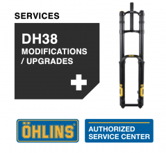 Öhlins DH38 Service Level 2: Upgrade / Modifications