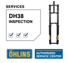 Öhlins DH38 Service Level 0: Inspection