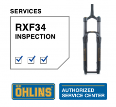 Öhlins RXF34 Service Level 0: Inspection