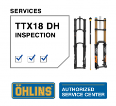 Öhlins TTX18 Fox 40/Boxxer/Marzocchi 58 Service Level 0: Inspection