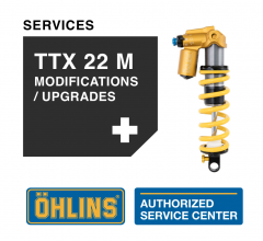 Öhlins TTX 22 M Service Level 2: Modifications & Upgrades