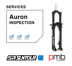 SR Suntour Auron Service Level 0: Inspection