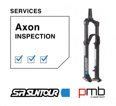 SR Suntour Axon Service Level 0: Inspection