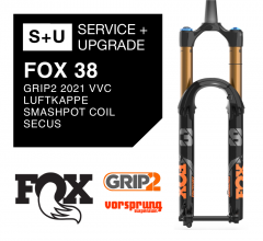 Fox 38 Pack Service + Upgrade
