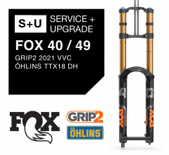 Fox 40 Service: full service + upgrades