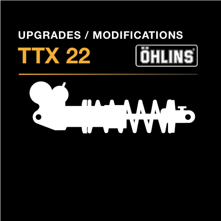 Ohlins TTX 22 M Upgrades & Modifications