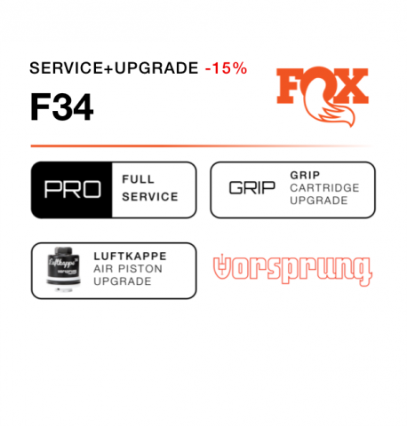 Fox 34 Service Upgrade Pack