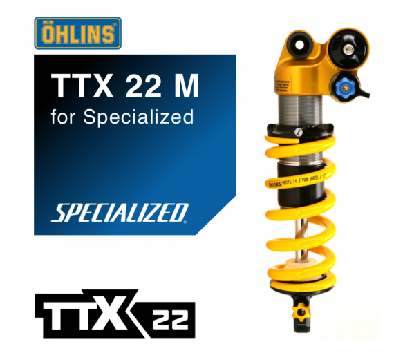 Ohlins Ttx 22 M For Specialized Pmb Suspension